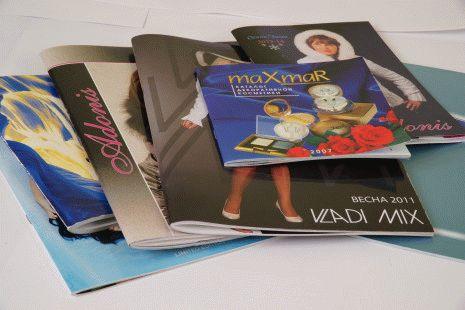 каталоги и брошюры фото